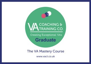 virtual assistant in edinburgh lime blue VA Master Course VACT